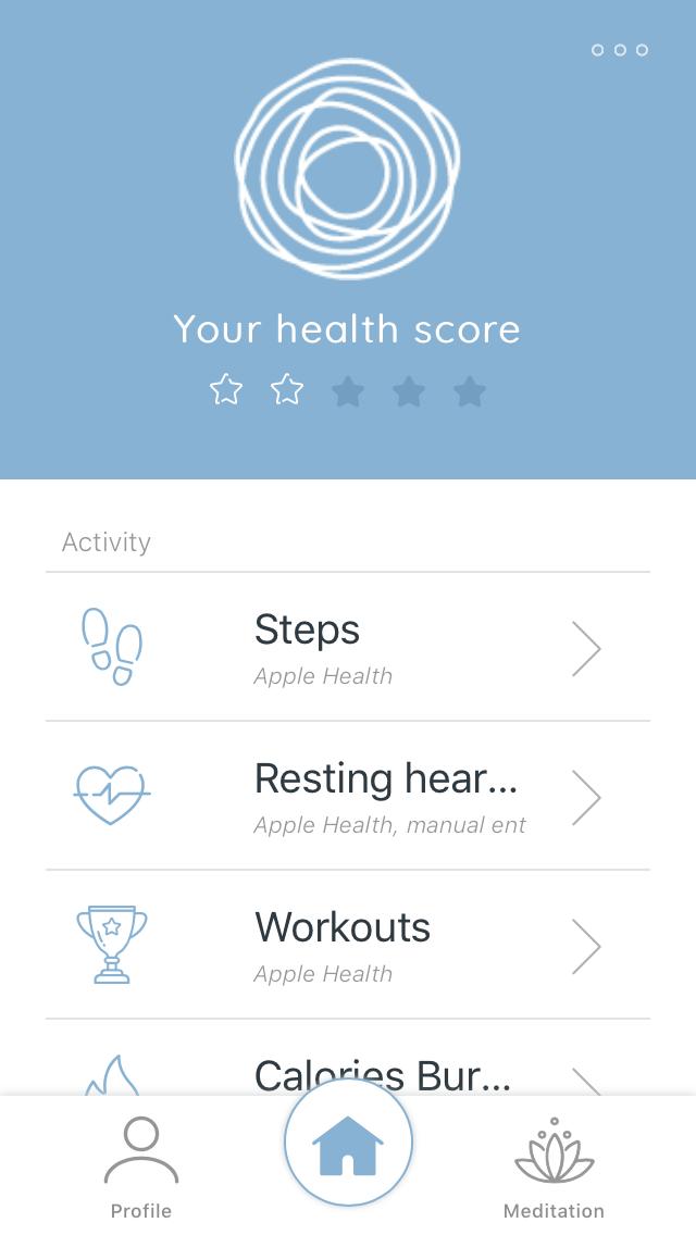 Get Your DeepH Score in App