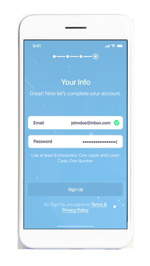 Login in app